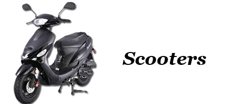 Power Equipment - Banner - Scooters