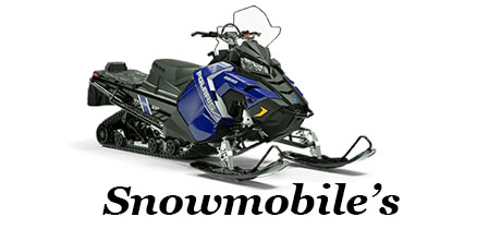 Power Equipment - Banner - Snowmobile