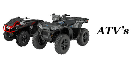 ATVs can also be financed by ShopEZCredit
