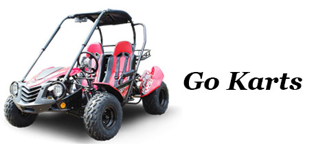 Power Equipment - Banner - Go Karts