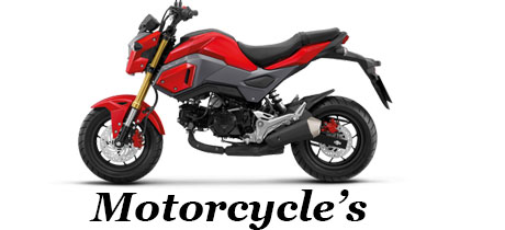 Motorcycles also for sale
